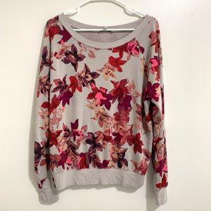 Express Floral Sweatshirt